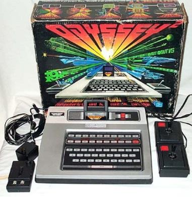 Um video game.