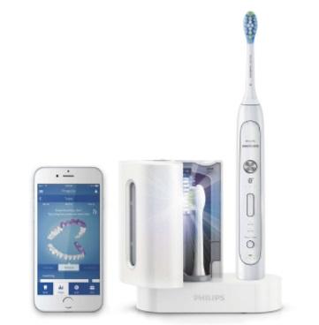 Uma escova de dentes