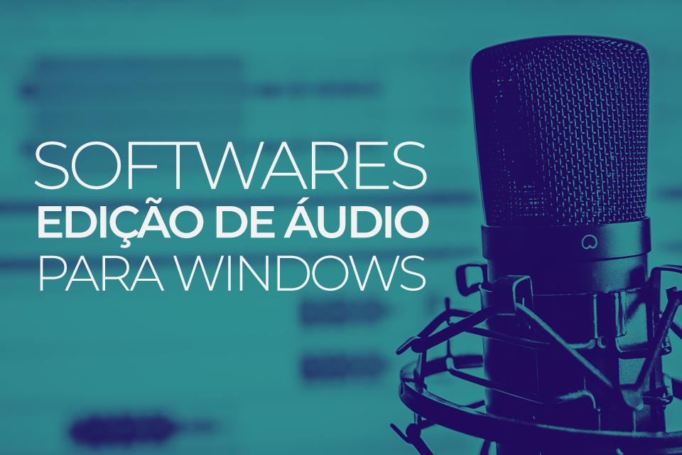 Imagem de 4 softwares de edição de áudio para Windows no tecmundo