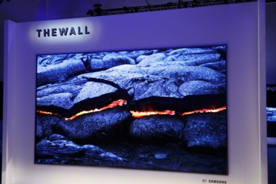 """Imagem de The Wall: Samsung mostra TV que é um """"paredão"""" modular de 146 polegadas no tecmundo"""
