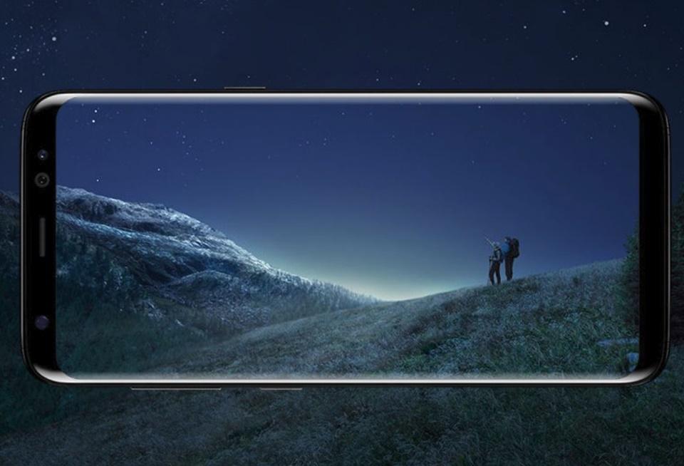 Imagem de Samsung revela patente de tela de celular com biometria e câmera embutidas no tecmundo