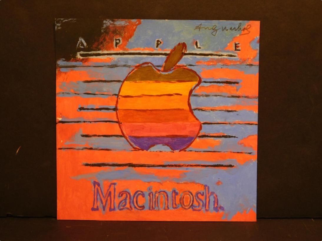 Imagem de Obra de Andy Warhol com logo do Macintosh vai a leilão e pode valer US$ 30K no tecmundo