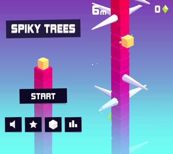 Spiky Trees