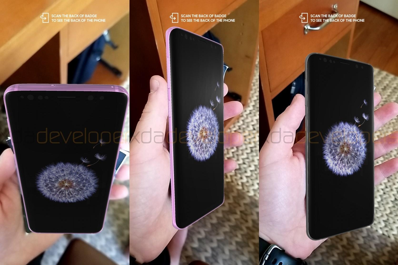 Imagem de Samsung exibirá o design do novo Galaxy S9 em realidade aumentada no tecmundo