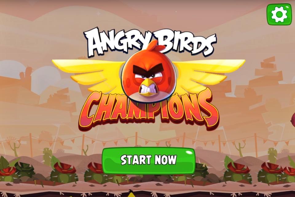 Imagem de Novo Angry Birds Champions promove competição com premiação em dinheiro no tecmundo