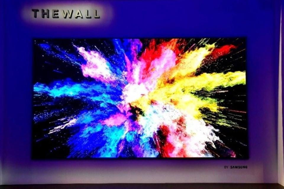 Imagem de The Wall: TV de 146 polegadas da Samsung pode estar a caminho do mercado no tecmundo