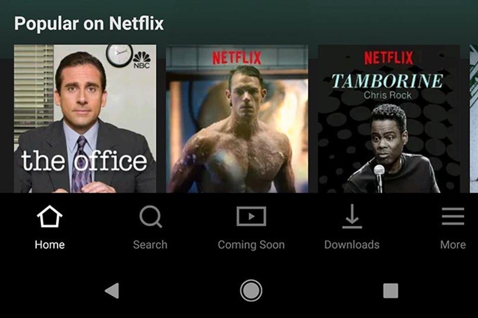 Imagem de Você já pode baixar o app da Netflix com nova interface para Android no tecmundo