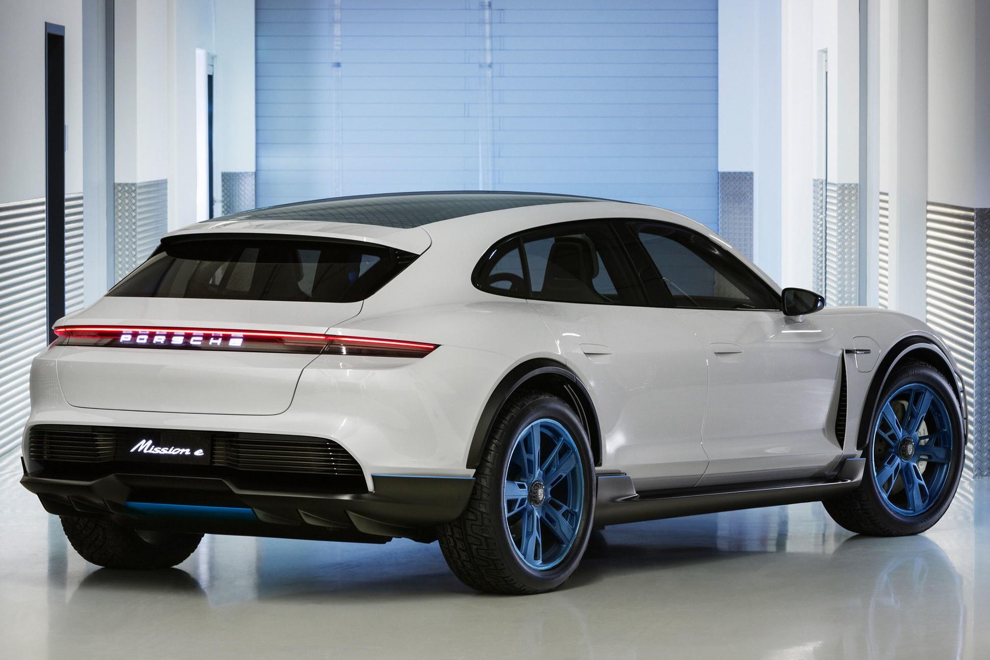 Imagem de Mission E Cross Turismo é a nova SUV elétrica e potente da Porsche no tecmundo