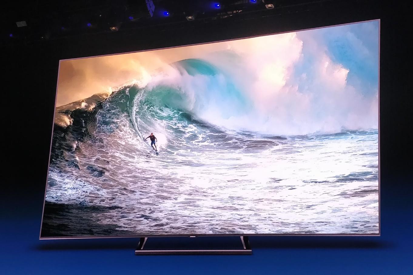"""Imagem de Samsung anuncia novas TVs QLED com tela que pode """"ficar sempre ligada"""" no tecmundo"""