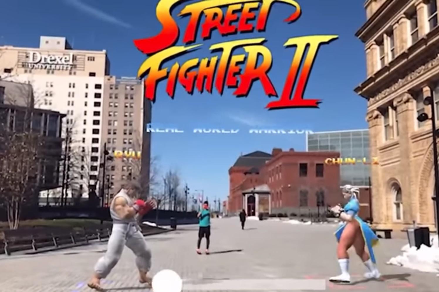 Imagem de Vídeo mostra Street Fighter II não oficial em realidade aumentada no tecmundo