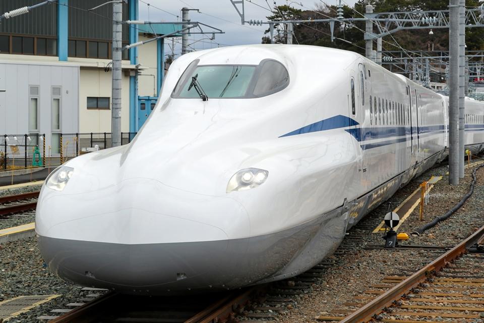 """Imagem de Japão revela protótipo """"supremo"""" de novo trem-bala que vai estrear em 2020 no tecmundo"""