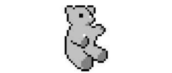 Um ícone de urso.