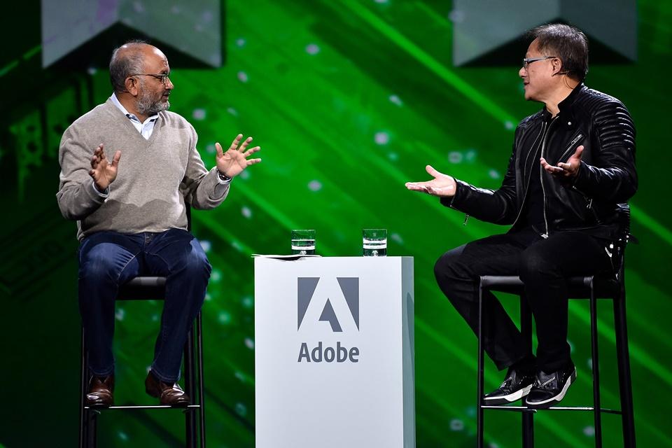 Imagem de Quase irmãos! Adobe e NVIDIA firmam parceria para desenvolvimento de IA no tecmundo