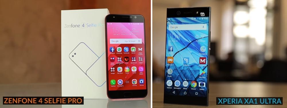 Zenfone 4 Selfie Pro XA1 Ultra
