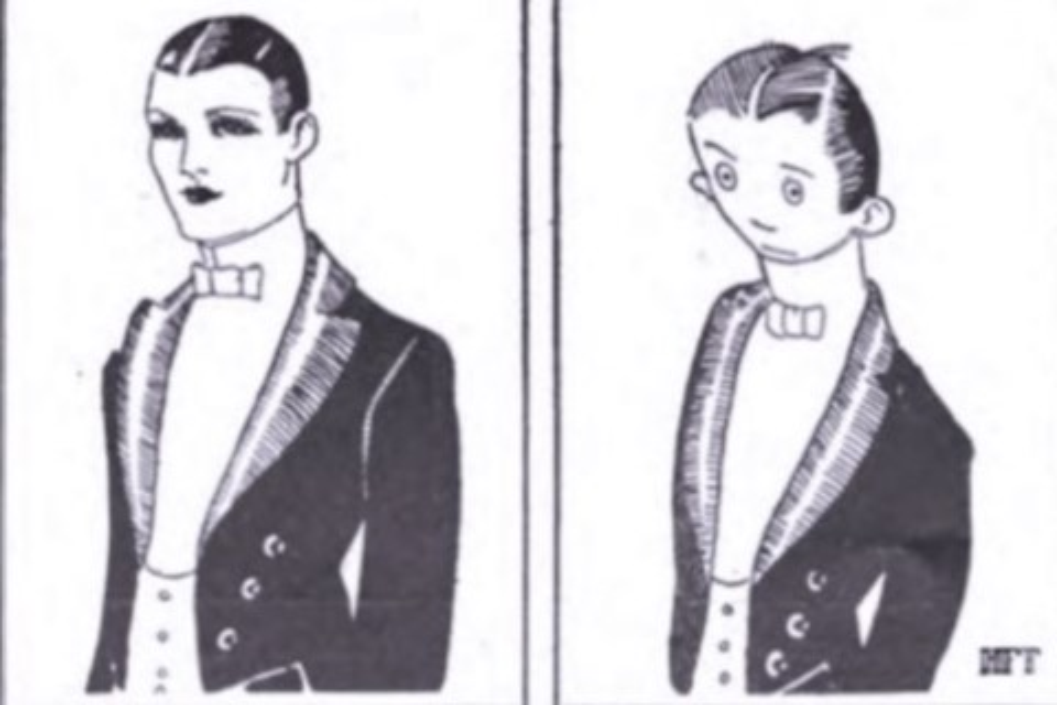 Imagem de Como você realmente é? Meme famoso na internet já existia em 1921 no tecmundo