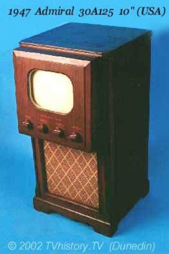 Uma TV antiga.