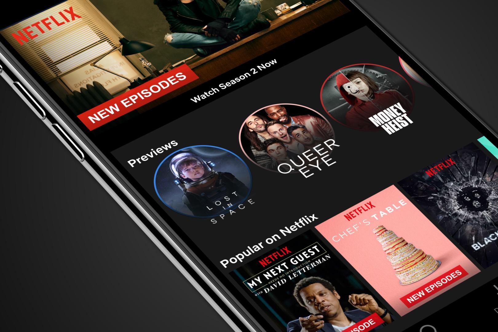 """Imagem de App da Netflix ganha """"Stories"""" para mostrar trailers de filmes e séries no tecmundo"""