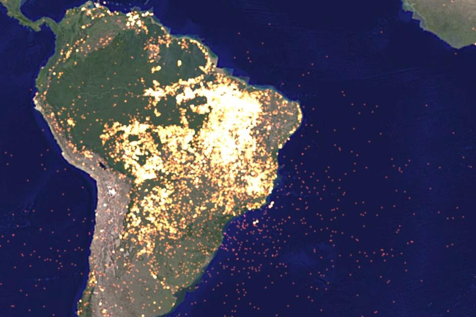 Imagem de Site usa imagens da NASA para mostrar como estamos mudando o planeta no tecmundo