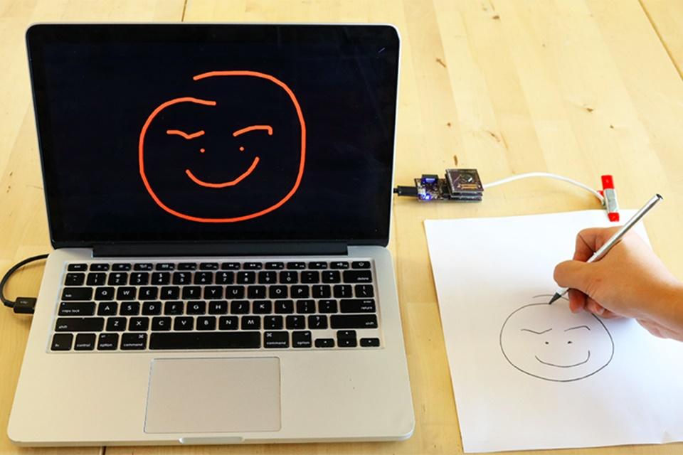 Imagem de Pesquisadores criam papel que digitaliza anotações de tinta, lápis ou dedos no tecmundo