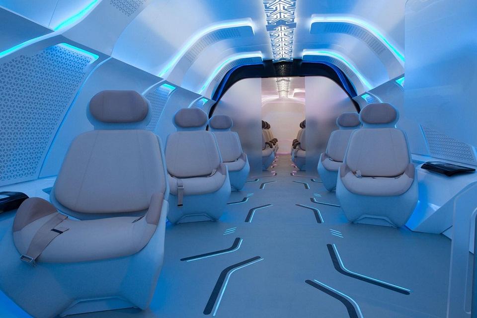 Imagem de BMW Designworks cria protótipo luxuoso de cápsula para Hyperloop no tecmundo