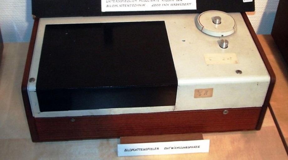 Um aparelho antigo.