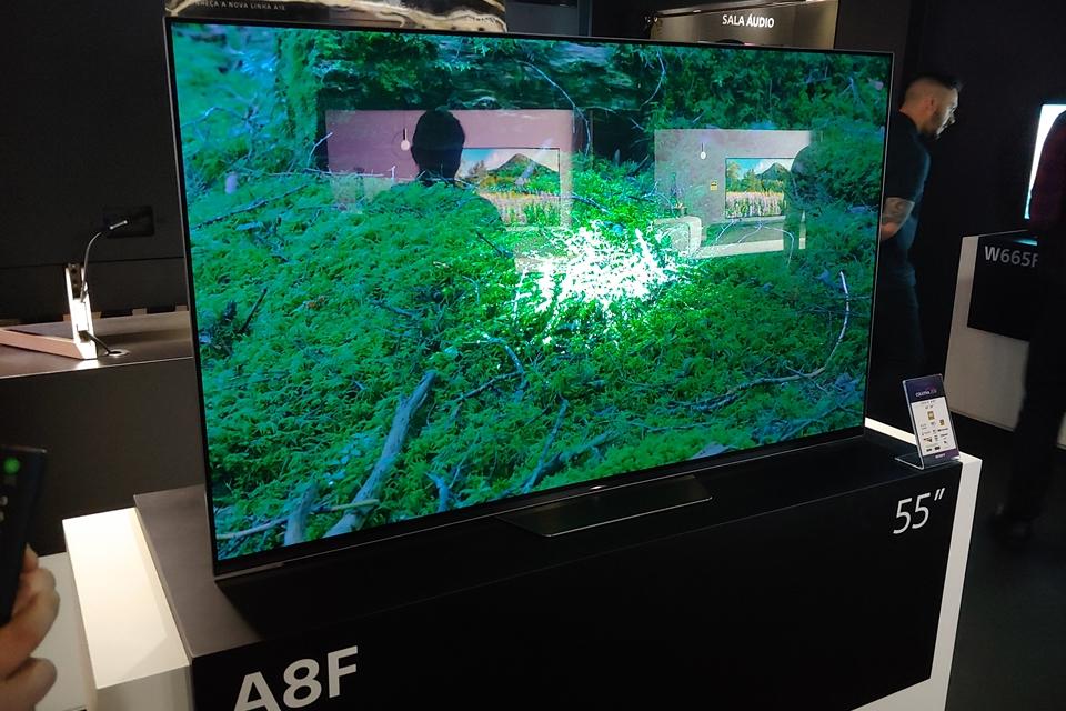 """Imagem de Sony traz ao Brasil novas Android TVs, com OLED de 55"""", LED de 85"""" e mais no tecmundo"""