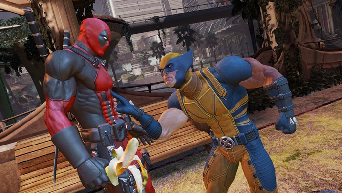 deadpool game wolverine