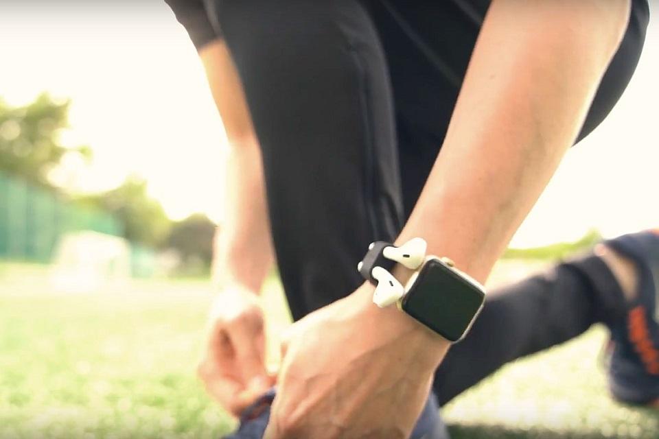 Imagem de Elago lança pulseira de silicone para Apple Watch com encaixe para AirPod no tecmundo