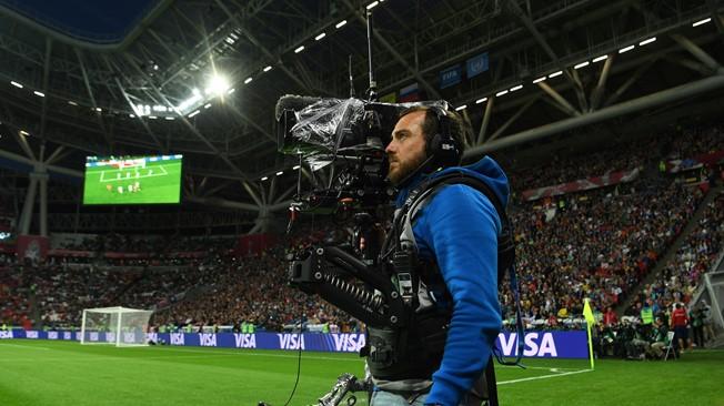 Um câmera.
