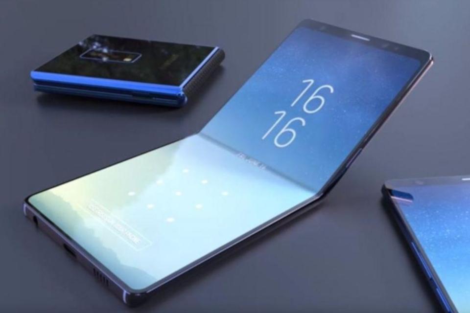 Imagem de Celular dobrável da Samsung pode chegar ao mercado custando quase US$ 2 mil no tecmundo