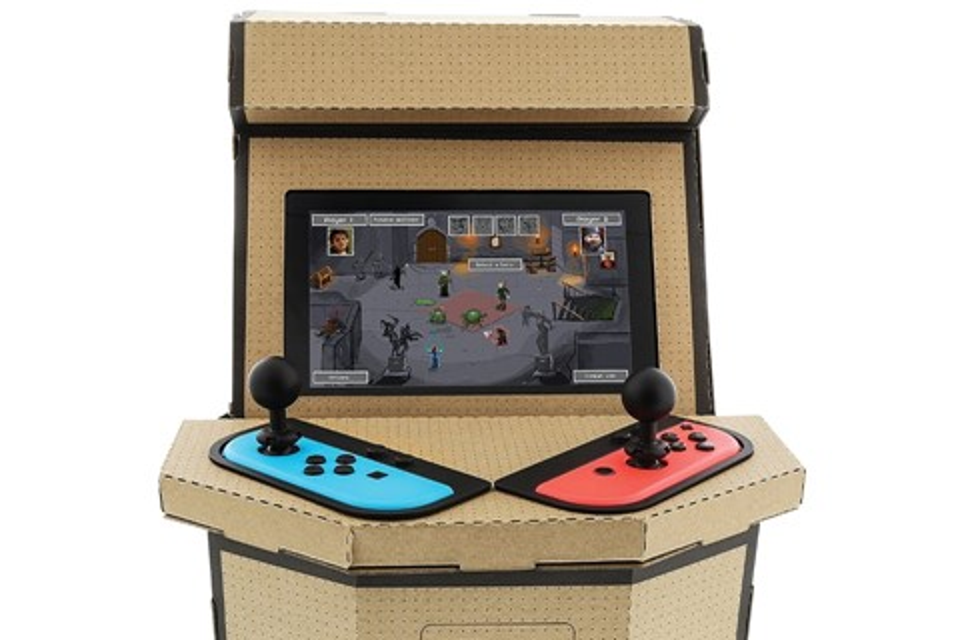 Imagem de Kit personalizado do Nintendo Labo transforma seu Switch em um arcade no tecmundo