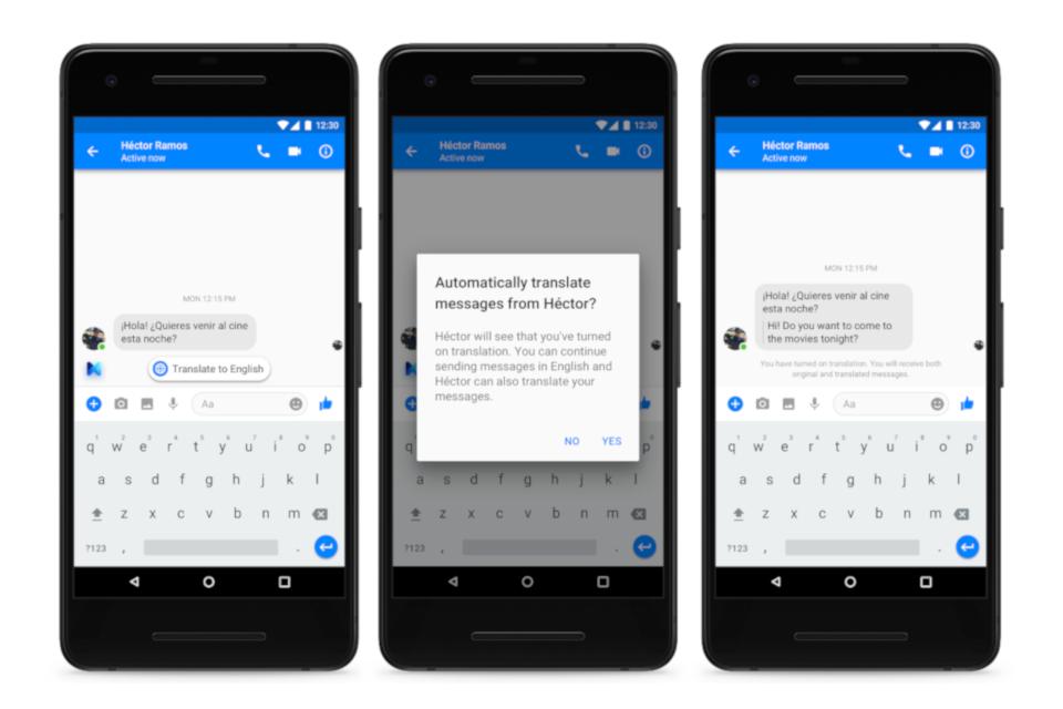 Imagem de Facebook Messenger adiciona tradução automática entre inglês e espanhol no tecmundo