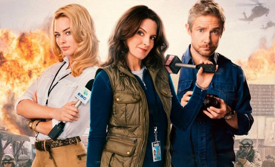 Três repórteres.