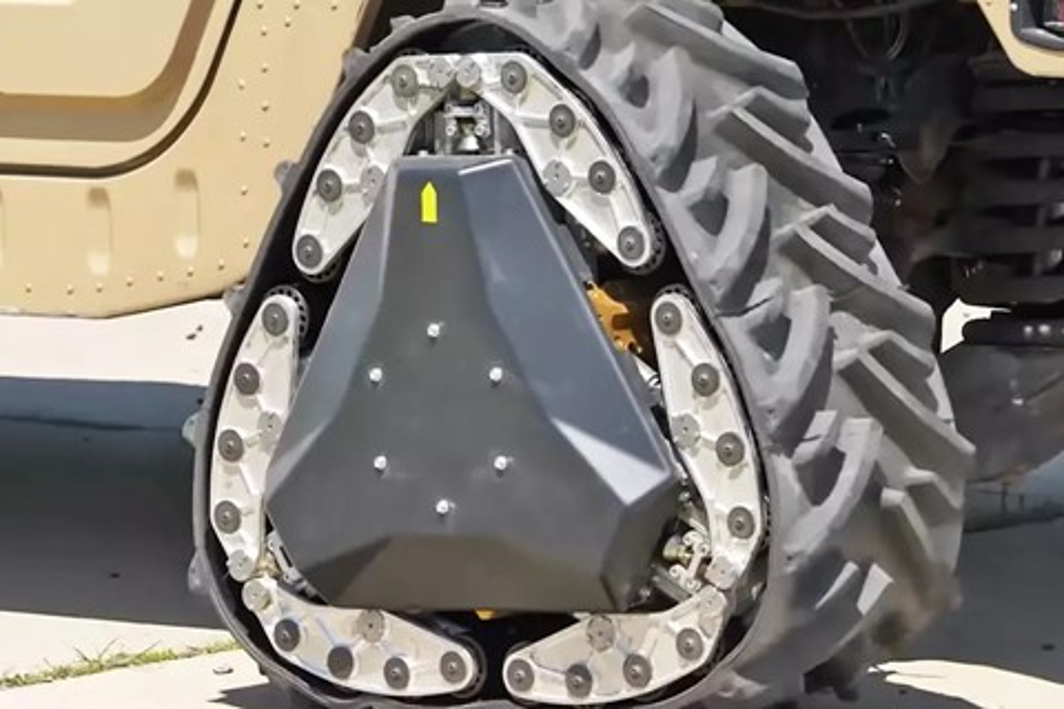 Imagem de Reinventando a roda: DARPA cria rodas que se transformam em lagartas no tecmundo