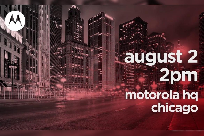 Imagem de Motorola anuncia novo smartphone em 2 de agosto no tecmundo