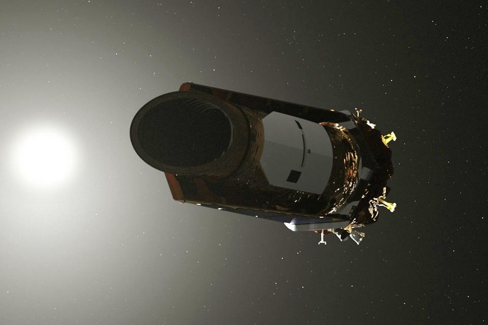 Imagem de Kepler entra em estado de hibernação antes de sua última missão heroica no tecmundo