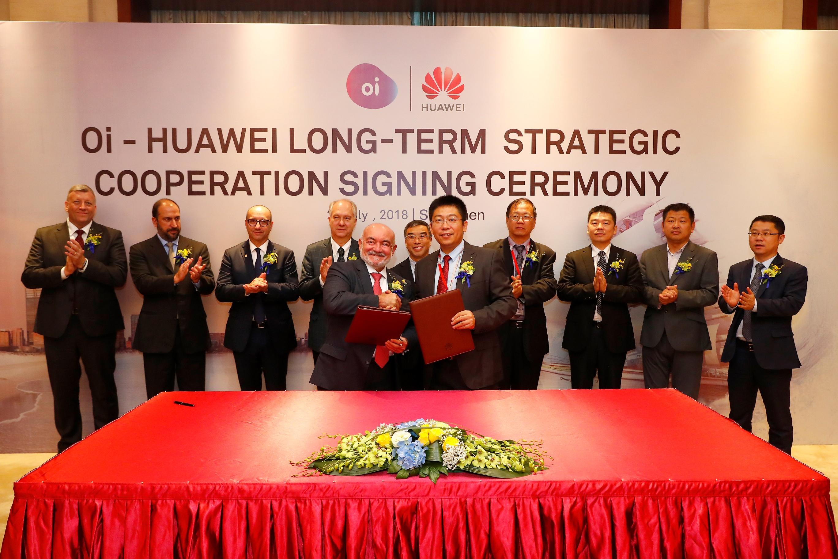 Imagem de Huawei e Oi celebram parceria para modernizar serviço da empresa no Brasil no tecmundo
