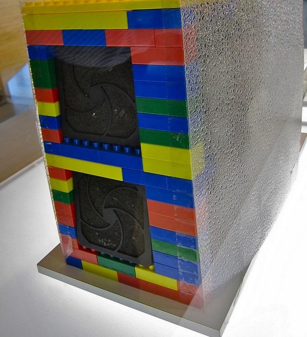 Um servidor de LEGO.
