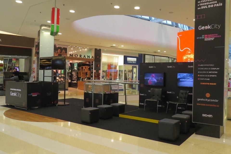 Imagem de ParkShoppingBarigüi ganha lounge exclusivo do Geek City no tecmundo