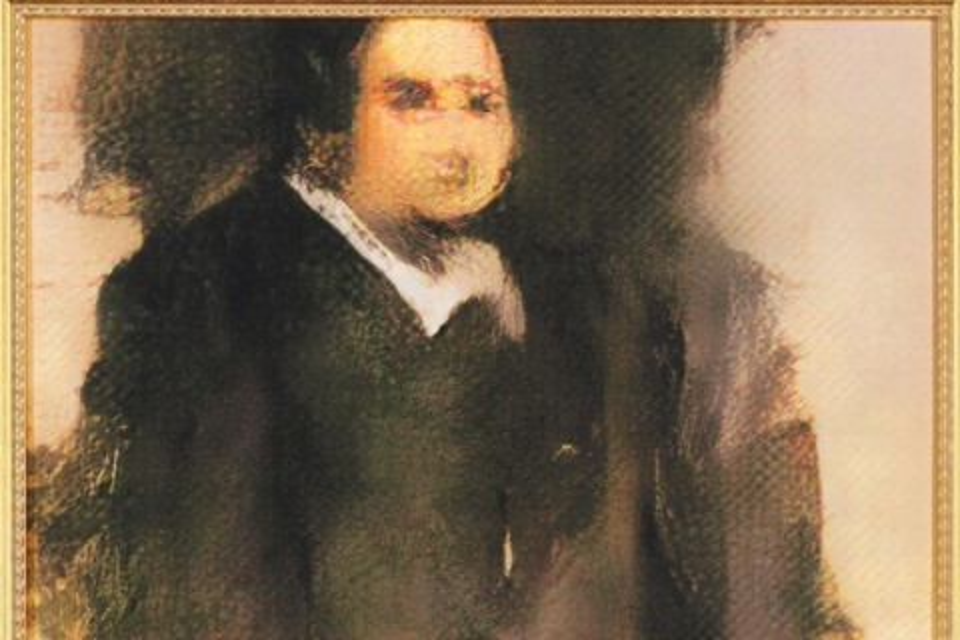 """Imagem de Retrato """"pintado"""" por inteligência artificial vai a leilão nos EUA no tecmundo"""