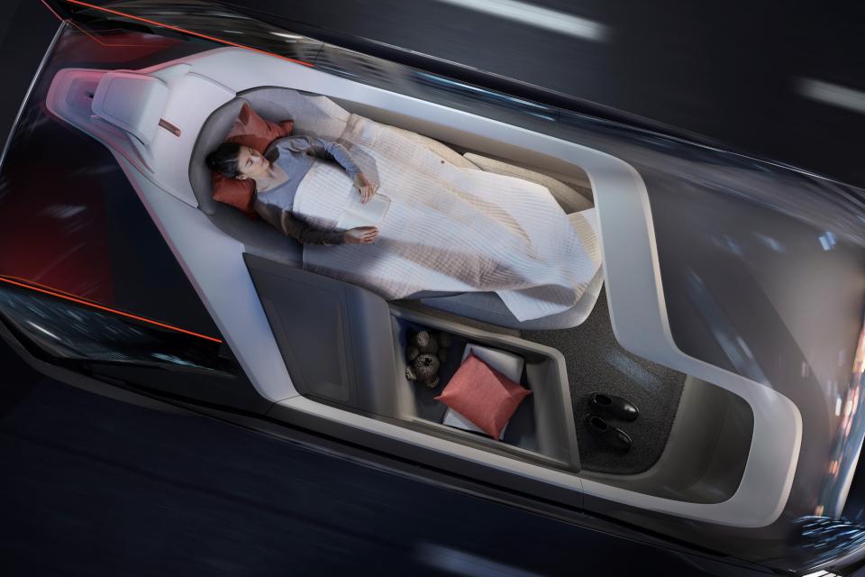 Imagem de Carro-conceito Volvo 360c é uma cama sobre rodas para substituir o avião no tecmundo