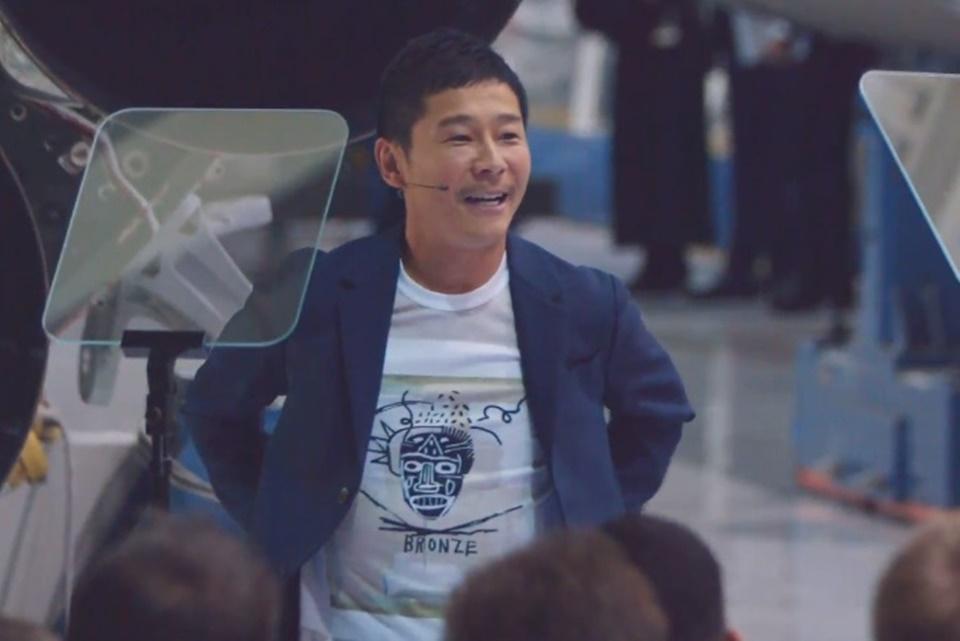 Imagem de Yusaku Maezawa é o o primeiro turista que visitará a Lua pela SpaceX no tecmundo