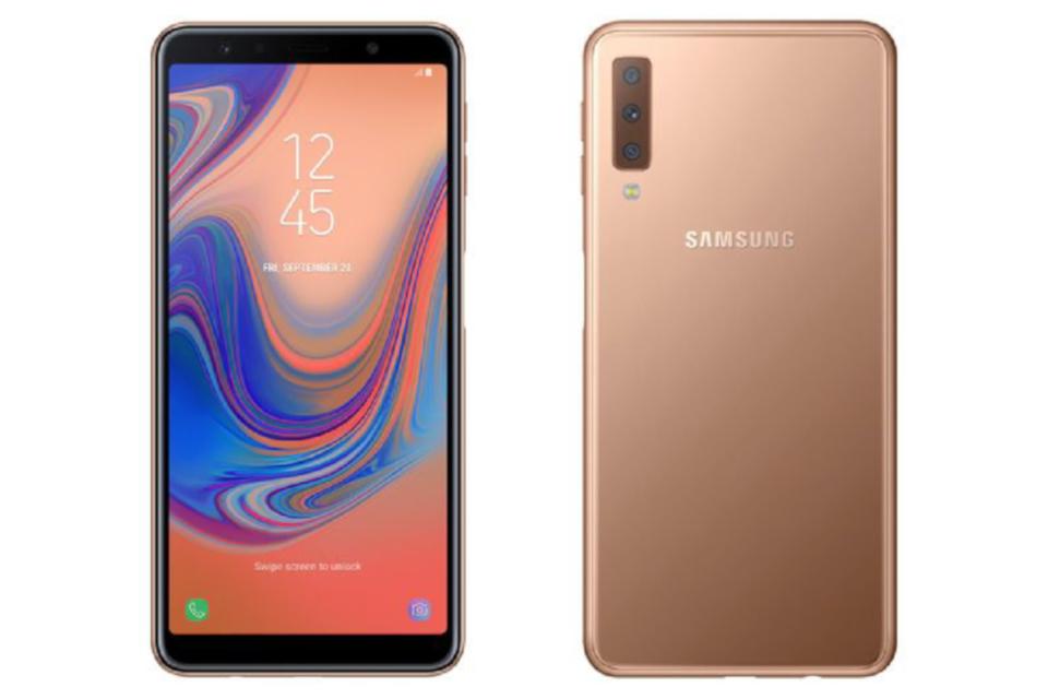 Imagem de Vazam fotos de Samsung Galaxy J6+, J4+ e Galaxy A7 (2018) com câmera tripla no tecmundo