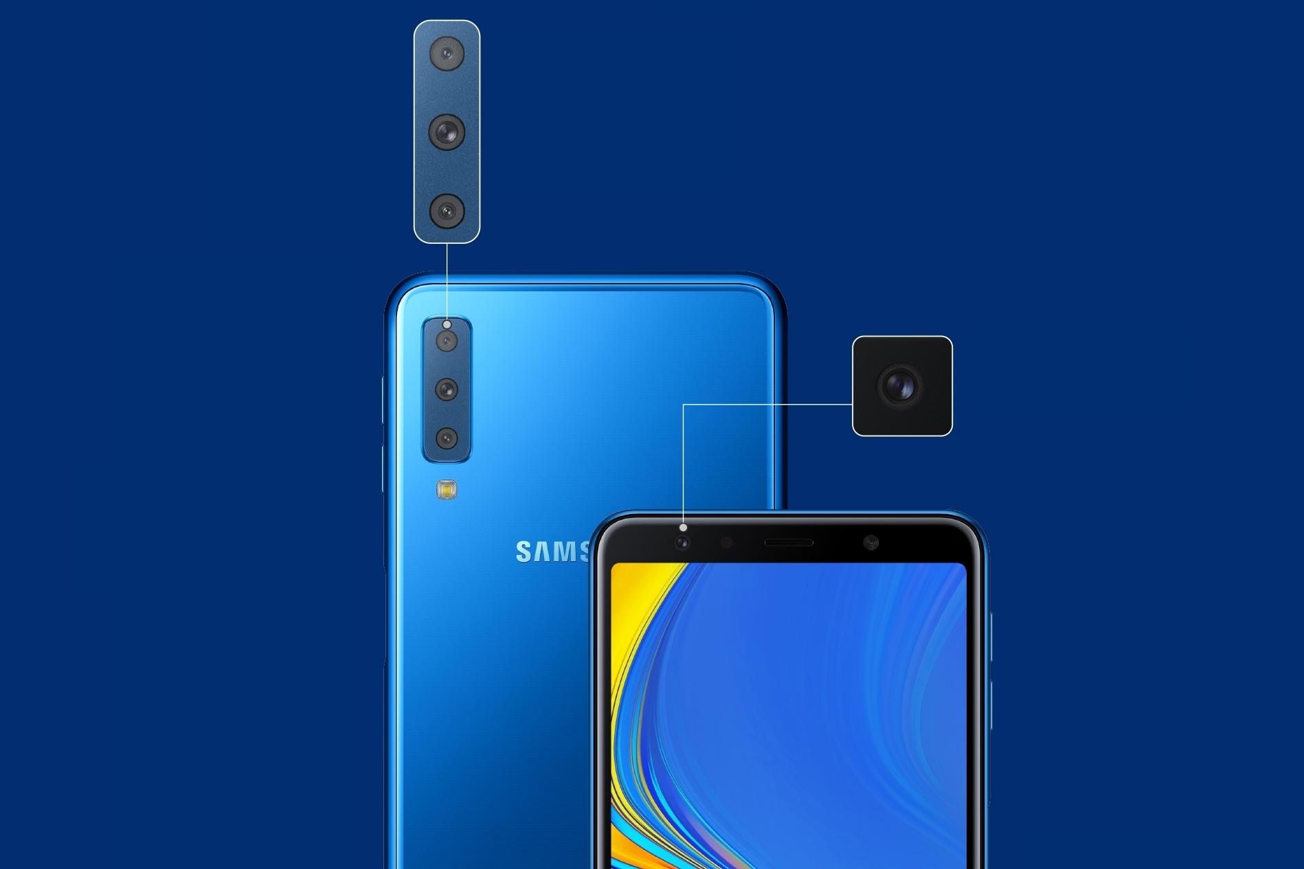 Imagem de Galaxy A7 (2018) é anunciado com câmera tripla e tela de 6 polegadas no tecmundo
