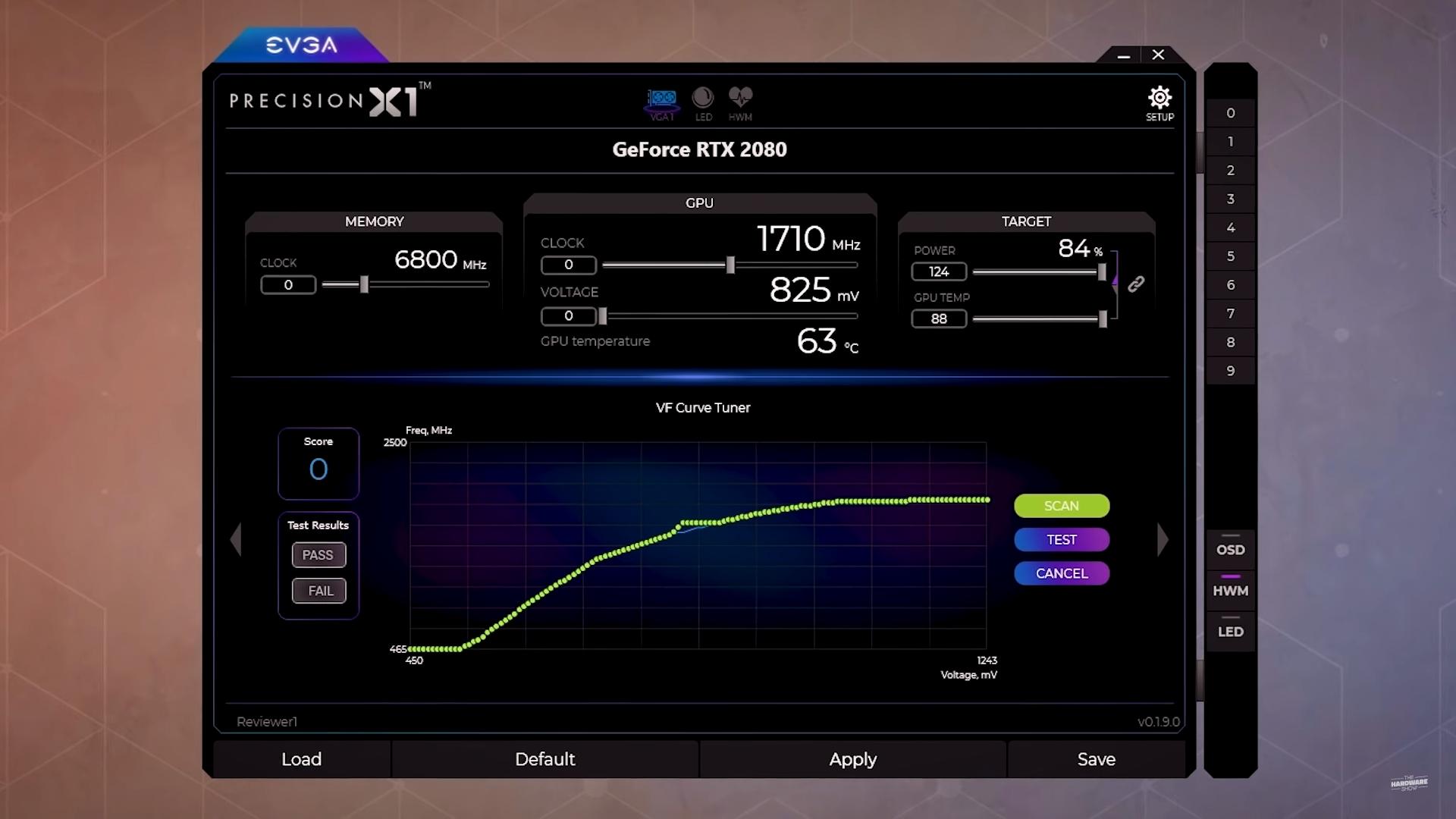 GPU Boost 4.0 na RTX 2080