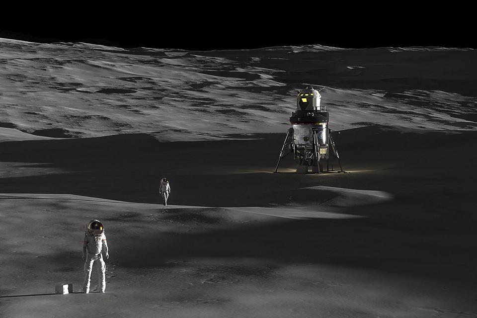 Imagem de Lockheed Martin lança proposta de gigante lander tripulado para voos à Lua no tecmundo