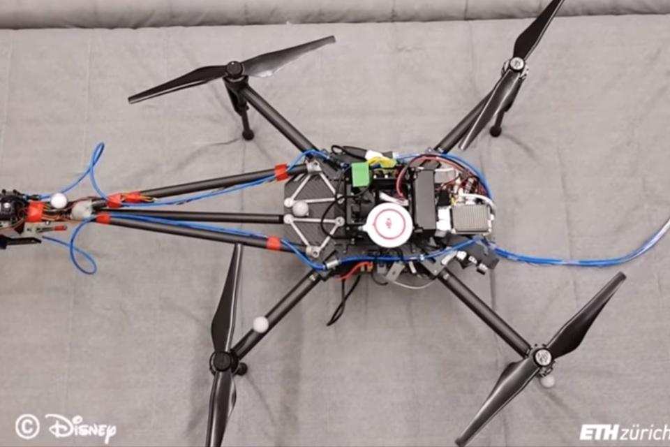 Imagem de Pesquisadores da Disney criam drone para pintar superfícies no tecmundo