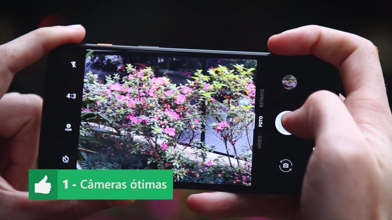 OnePlus 6 Prós e Contras