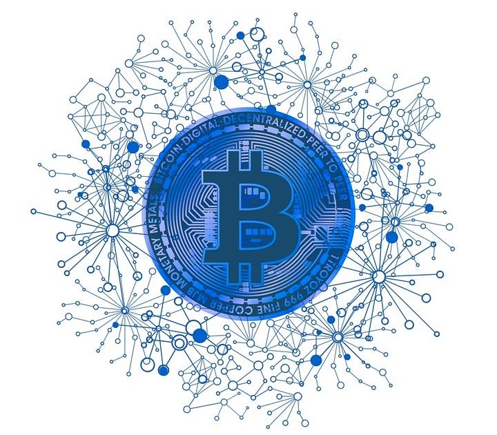 Uma bitcoin.