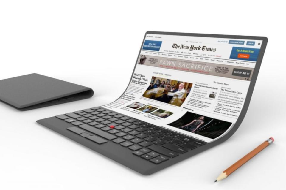 Imagem de Além do celular, Samsung pretende lançar notebook com tela dobrável no tecmundo